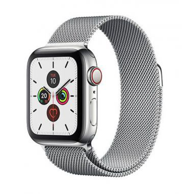 Apple Watch Series 5 Stainless Steel Silver Milanese - LTE (E-sim ok)