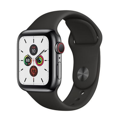 Apple Watch Series 5 Stainless Steel Gray Sport - LTE (E-sim ok)