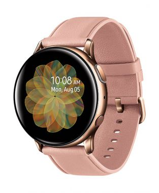 Samsung Galaxy Watch Active 2 40mm viền thép dây da